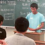 高校のホームルームで「日韓共同プロジェクト」の報告会を実施