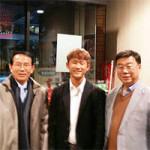 熊本復興応援サイト寄贈式にベンジャミン1期生 木庭大晴君、日本大使任命