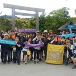 """「第2回日韓地球市民徒歩プロジェクト」完了、""""私たちは地球を歩いています"""""""